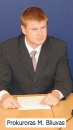 Prokuroras Mindaugas Bliuvas