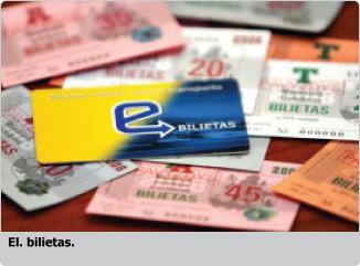 El. bilietas