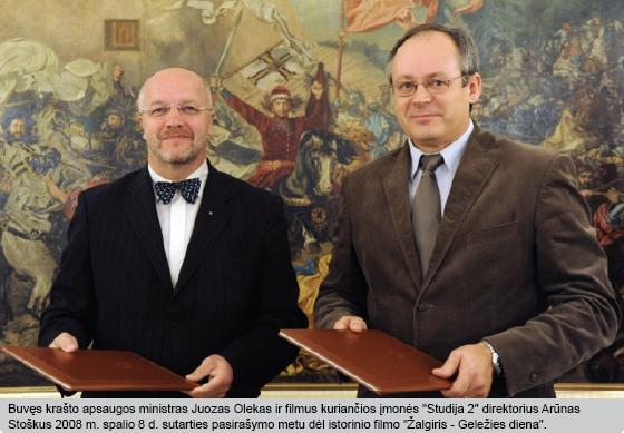 J. Oleka ir A. Stoškus